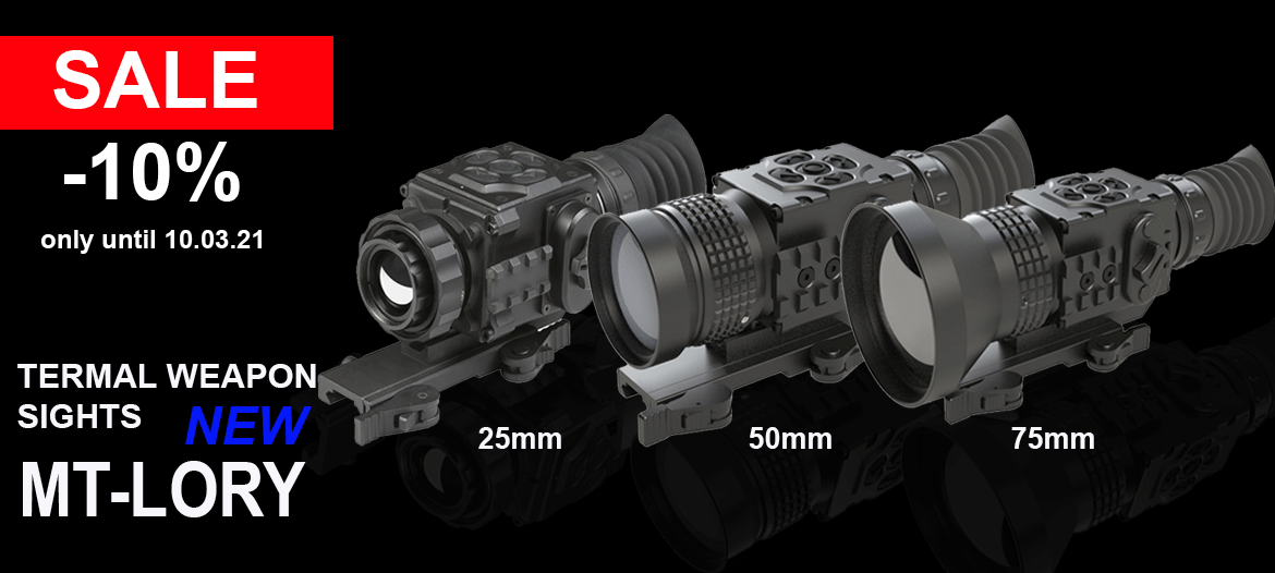 Promotion for thermal imaging sights MT-Lory